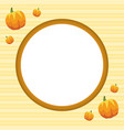 frame for thanksgiving day style vector image