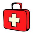 medicine chest icon icon cartoon vector image