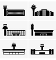 Airports vector image vector image