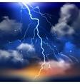 Lightning Background vector image