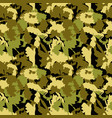 classic seamless military camouflage pattern vector image