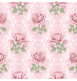 rose wallpaper vector image vector image