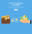 crypto currency bitcoin technology concept vector image