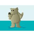 Cute Hog or Boar Mascot vector image
