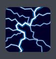 lightning light concept background cartoon style vector image