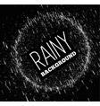 Rainy sky vector image