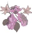 Flowers bouquet vector image