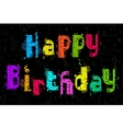 Colorful Birthday Party vector image