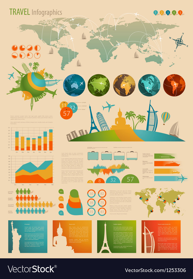 Infotravel2 vector