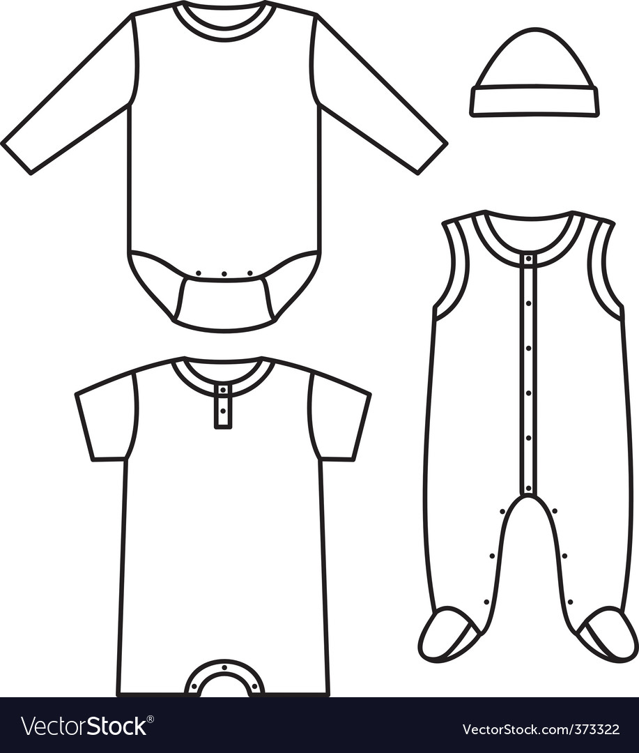 Child wear vector