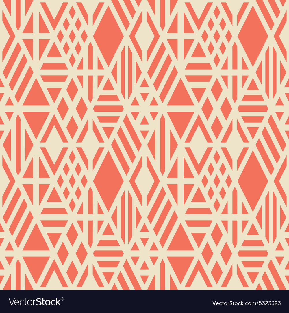 Rhombuses seamless pattern vector
