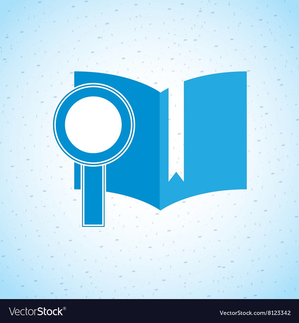 Electronic book design vector