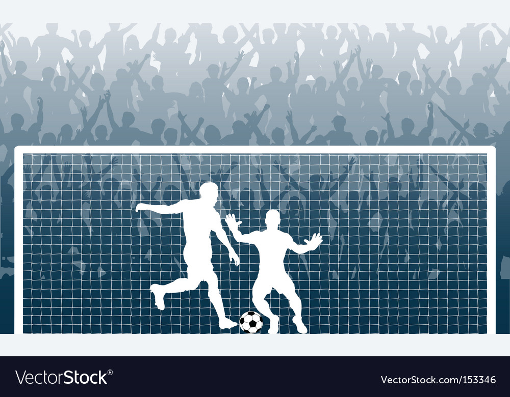 Penalty kick vector