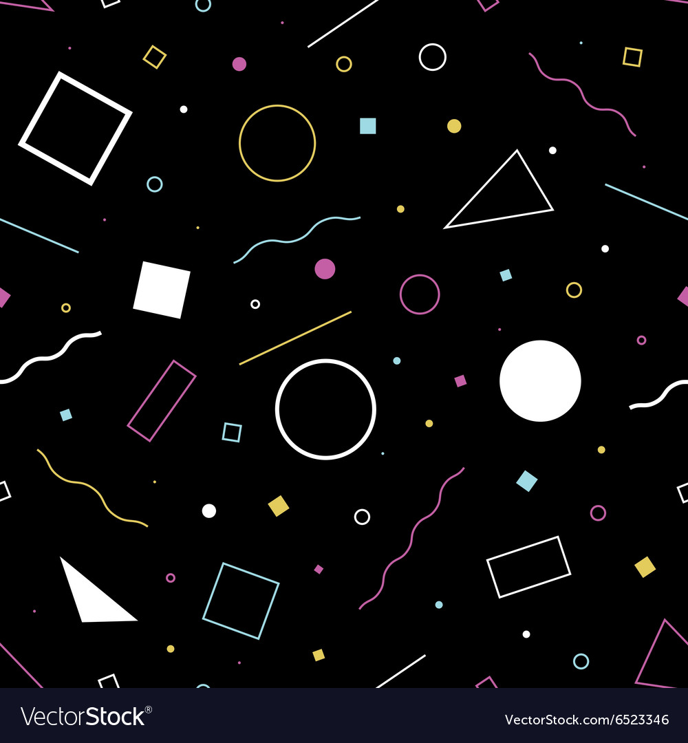 Seamless background 80s45 vector