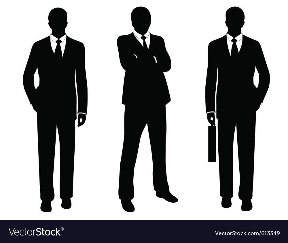 Businessmen vector