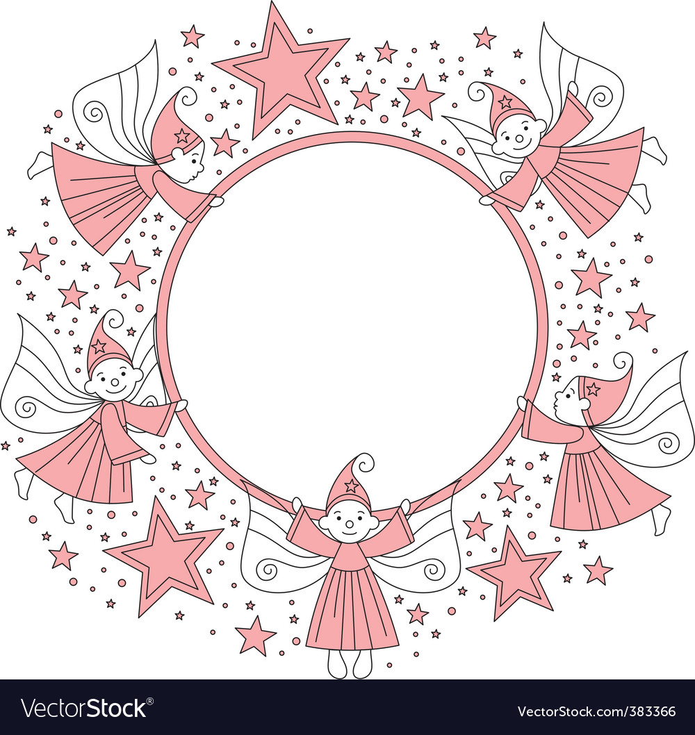 Elves frame vector