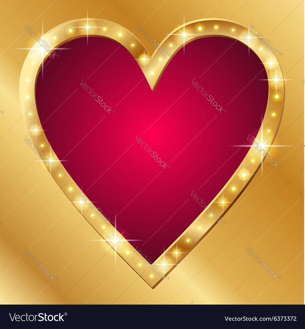 Flash banner valentine vector