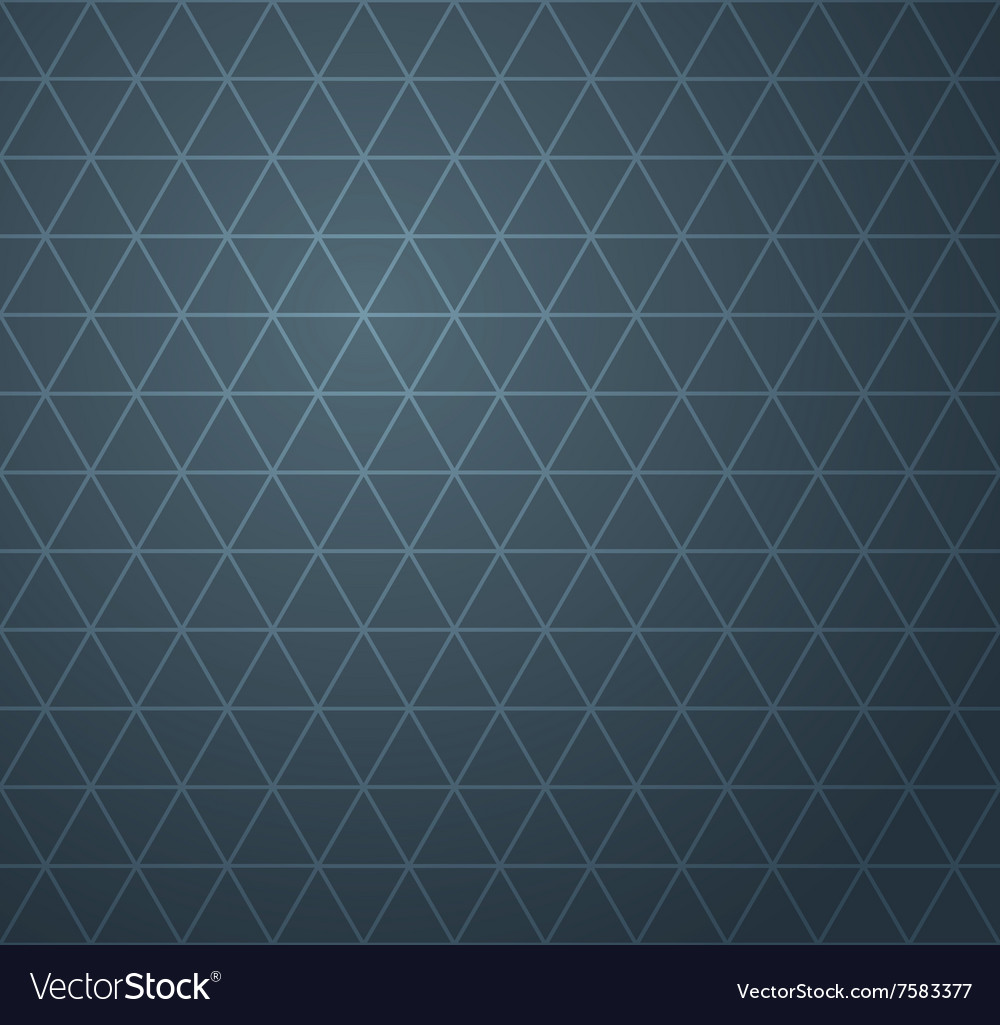 Abstract dark blue geometric seamless pattern vector