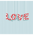 love decoration vector image
