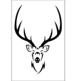 Deer symbol vector image
