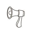 megaphone loudspeaker marketing advertising vector image