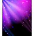 Glitter background print vector image