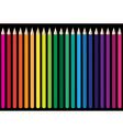 crayons vector image vector image