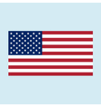 usa flag color vector image