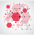 modular bauhaus background created from simple vector image