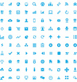 100 development soft icons vector image