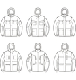 Work jacket vector image vector image