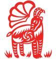 oriental goat vector image vector image
