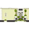 gardening of balconies vector image