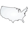 map usa vector image