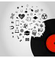 Science Vinyl vector image
