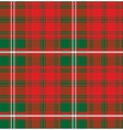 seamless pattern Scottish tartan Royal Stewart vector image
