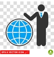 Planetary Eps Icon vector image