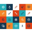 Graphic desing tools Flat vector image