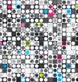 abstract grunge circle seamless texture vector image