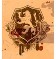 vintage grunge emblem vector image