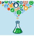 education and science concept vector image