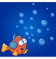 Fish Music vector image vector image
