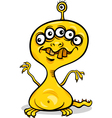 cartoon spooky monster vector image