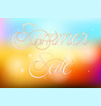 summer sale with abstract colorful background vector image