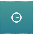 time clock icon vector image