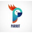 Tropical birds - parrot vector image