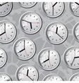 Wall mounted digital clock Seamless vector image vector image