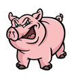pig mean vector image
