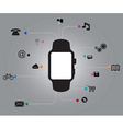 Smart watch New technology vector image