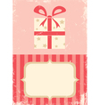 box with a gift vector image
